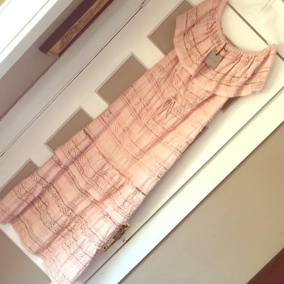 K/Lab Dresses & Skirts - OTS lace maxi dress boho romantic feminine ruffle